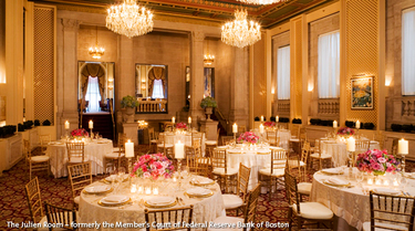 Langham Hotel - Ceremony & Reception, Hotels/Accommodations, Ceremony Sites, Reception Sites - 250 Franklin St, Boston, MA, 02110, US