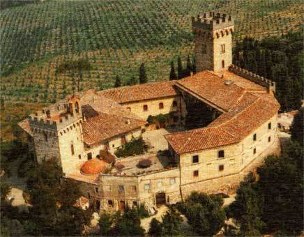 Poppiano Castle Farm - Wineries - Via di Fezzana,45 - Poppiano, Montespertoli, Toscana, IT