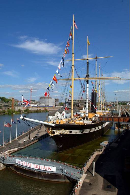 Ss Great Britain - Ceremony Sites, Attractions/Entertainment - Great Western Dockyard, Bristol, Bs1 6, United Kingdom