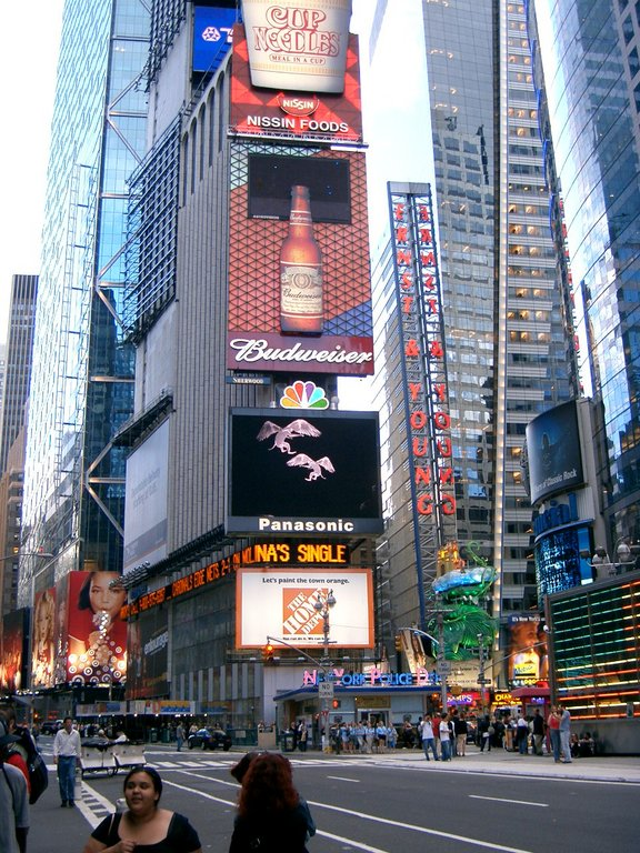 Times Square - Attractions/Entertainment -