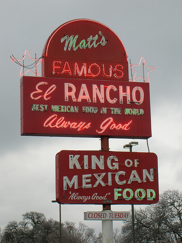 Matt's El Rancho Inc - Restaurants, Welcome Sites, Caterers - 2613 S Lamar Blvd, Austin, TX, United States