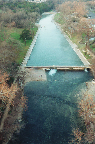 Barton Springs Pool - Attractions/Entertainment, Parks/Recreation, Beaches - 2201 Barton Springs Rd, Austin, TX, USA