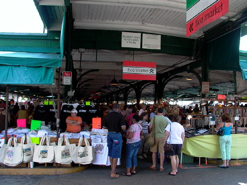 French Market - Restaurants, Attractions/Entertainment, Shopping - 1008 N Peters St, New Orleans, LA, 70116-3317, US
