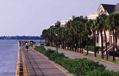 Charleston Battery - Attractions/Entertainment, Restaurants, Parks/Recreation - E Battery St, Charleston, SC, 29401, US