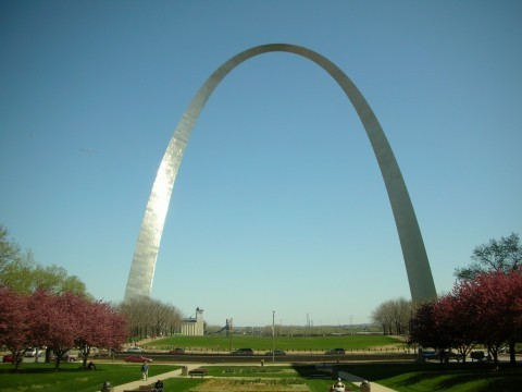 The Arch - Attractions/Entertainment - St Louis Arch, St. Louis, MO, MO, US