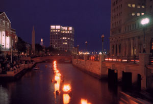 Waterfire--downtown Providence - Attractions/Entertainment - Exchange Street, Providence, Rhode Island, United States
