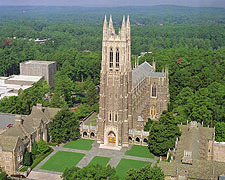 Duke Chapel, Ceremony Location - Ceremony Sites - Chapel Drive, Duke University West Campus, Durham, NC, United States
