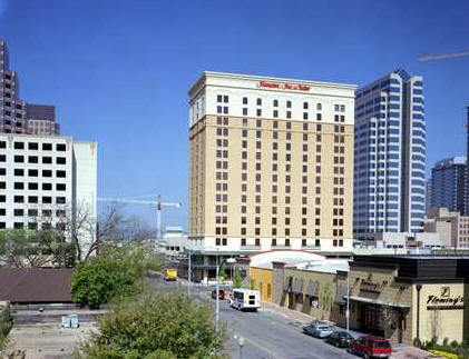Hampton Inn Suites Downtown - Hotels/Accommodations, Attractions/Entertainment - 200 San Jacinto Blvd., Austin, TX, United States