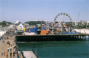 Santa Monica Pier - Attractions/Entertainment, Beaches - Santa Monica Pier, Santa Monica, CA