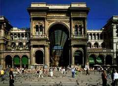 Galleria Vittorio Emanuele II - Attraction - Piazza del Duomo, Milan MI, Italy
