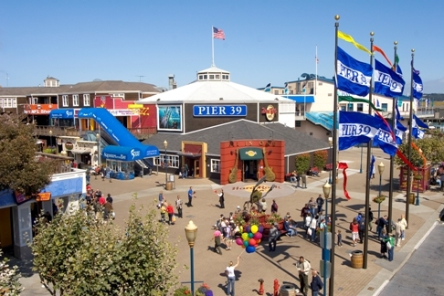 Pier 39 - Attractions/Entertainment, Parks/Recreation - Pier 39, San Francisco, CA 94133
