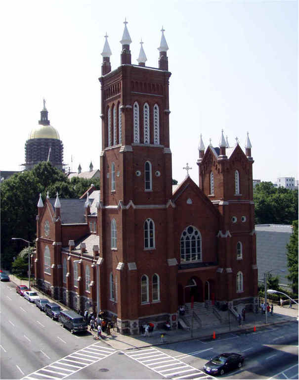 Shrine Of The Immaculate Conception - Ceremony Sites - 48 Martin Luther King Jr Dr SW, Atlanta, GA, 30303