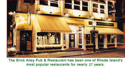 Brick Alley Pub & Restaurant - Restaurants, Bars/Nightife, Rehearsal Lunch/Dinner - 140 Thames St, Newport, RI, USA