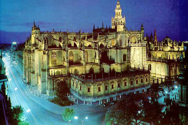 Seville spain wedding mapper for Exterior catedral de sevilla