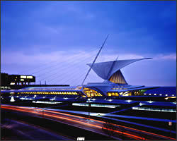 Milwaukee Art Museum - Attractions/Entertainment, Ceremony & Reception, Ceremony Sites, Reception Sites - 700 N Art Museum Dr, Milwaukee, WI, United States