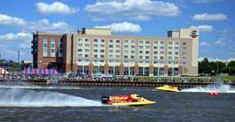 Doubletree Hotel - Hotels/Accommodations, Reception Sites, Ceremony Sites - 1 Wenonah Park Pl, Bay City, MI, 48708