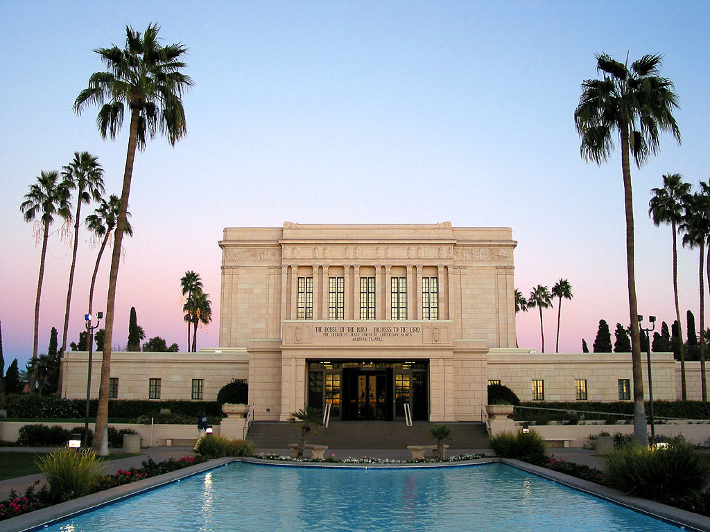 Mesa Temple - Ceremony Sites - 101 S LeSueur, Mesa, A.Z., United States