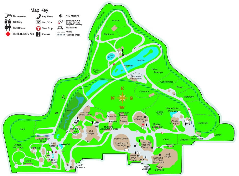 Henry Doorly Zoo - Attractions/Entertainment, Reception Sites - 3701 S 10th St, Omaha, NE, United States