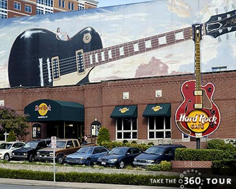 Hard Rock Cafe - Restaurants, Attractions/Entertainment - 100 Broadway, Nashville, TN, United States
