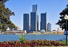 Detroit Marriott at the Renissance Center - Hotels - 400 Renaissance Center, Detroit, MI, 48243