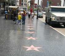 Hollywood Walk Of Fame - Attraction - Hollywood Blvd & Vine St, Los Angeles, CA, US