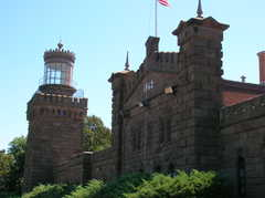 Twin Lights Historic Site - Beach Activities - Light House Rd, Highlands, NJ, 07732