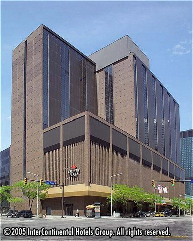 Crowne Plaza Hotel Downtown Cleveland - Hotels/Accommodations - 777 Saint Clair Avenue Northeast, Cleveland, OH, United States
