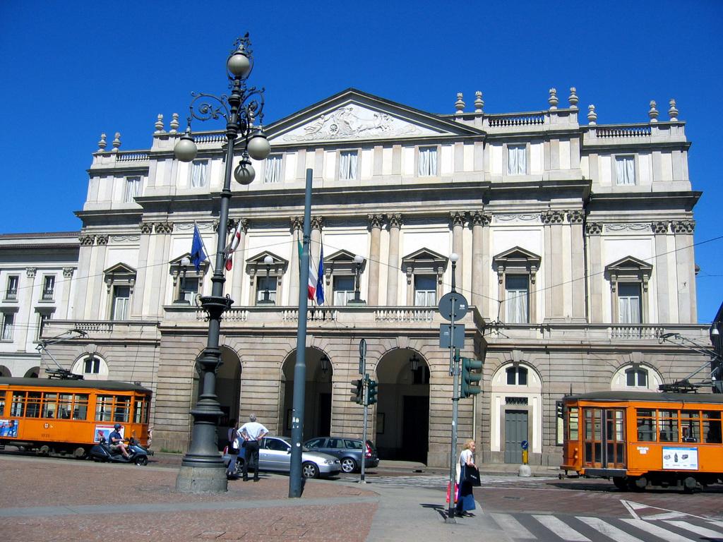 Teatro Alla Scala - Attractions/Entertainment - Piazza della Scala, Milano, Italy