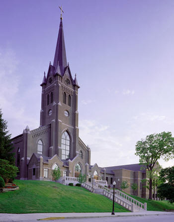 St Mary's Cathedral - Ceremony Sites - 1200 South St, Lafayette, IN, USA