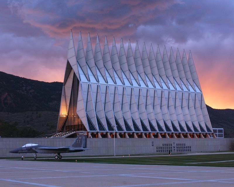 Air Force Academy Cadet Chapel - Ceremony Sites - Chapel Dr, CO 80840, CO, US