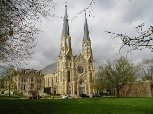 St. Mary's Cathedral - Ceremony Sites - 607 NE Madison Ave, Peoria, IL, 61603, United States