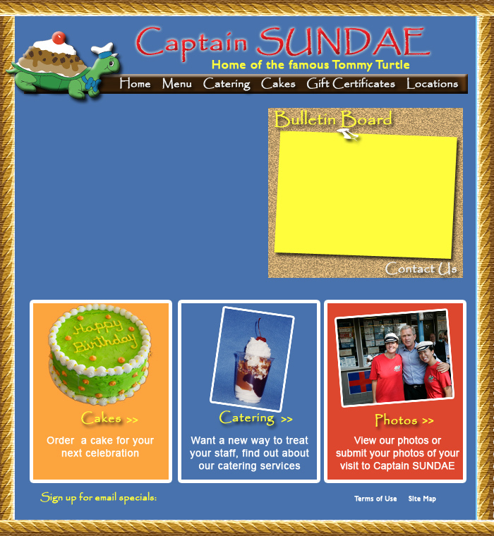 Captain Sundae - Attractions/Entertainment - 365 Douglas Ave, Holland, MI, USA