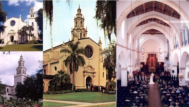 Knowles Memorial Chapel - Ceremony Sites - 1000 Holt Ave, Winter Park, FL, USA