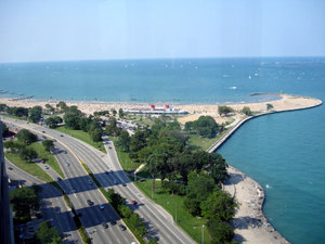 North Avenue Beach - Beaches, Attractions/Entertainment, Parks/Recreation - 1603 N Lake Shore Dr, Chicago, IL, 60610, US