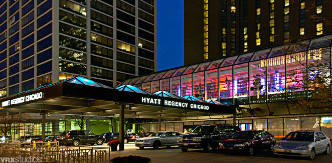 Hyatt Regency Hotel - Hotels/Accommodations - 151 E Wacker Dr, Chicago, IL, 60601, US