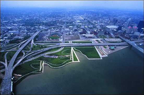 Louisville Waterfront Park - Parks/Recreation, Attractions/Entertainment - Waterfront Park, 129 River Rd, Louisville, KY, 40206