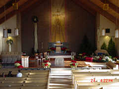 Saint Joseph Catholic Church - Ceremony - 425 E Washington St, Howell, MI, 48843, US