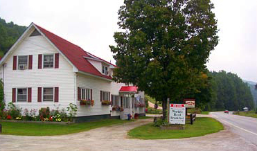 Swiss Farm Inn - Hotels/Accommodations - 4441 Route 100, Pittsfield, VT, 05762