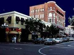 Gaslamp district downtown - Attraction - Gaslamp, San Diego, CA