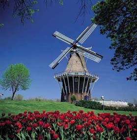 Windmill Island - Reception Sites, Ceremony Sites - 1 Lincoln Ave, Holland, MI, 49423