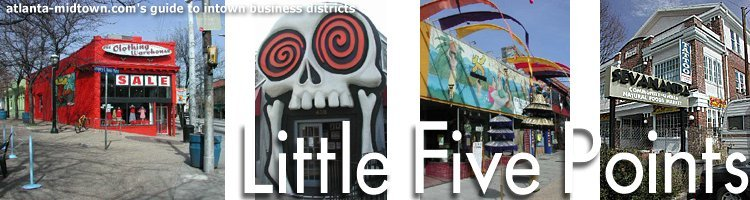 Little Five Points - Attractions/Entertainment, Shopping - 421 Moreland Ave NE, Atlanta, GA, United States
