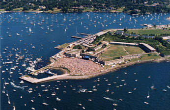 Fort Adams State Park - Attractions/Entertainment, Parks/Recreation - 80 Fort Adams Dr, Newport, RI, United States