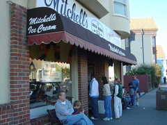 Mitchell's Ice Cream - Restaurant - 688 San Jose Ave, San Francisco, CA, 94110