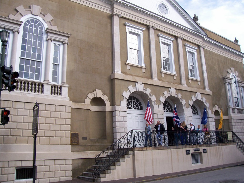 The Old Exchange Building - Reception Sites, Attractions/Entertainment, Ceremony Sites - 122 E Bay St, Charleston, SC, 29401, US