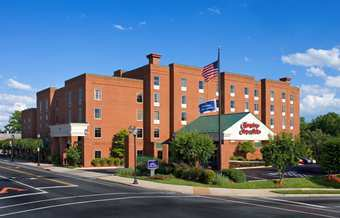 Hampton Inn & Suites - Hotels/Accommodations - 900 W. Main, Charlottesville, VA, USA