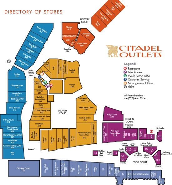 Citadel Outlets - Attractions/Entertainment, Shopping - 100 Citadel Dr # 480, Commerce, CA, United States