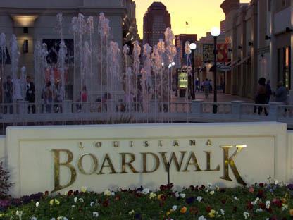 Louisiana Boarwalk - Attractions/Entertainment - 375 Boardwalk Blvd, Bossier City, LA, United States