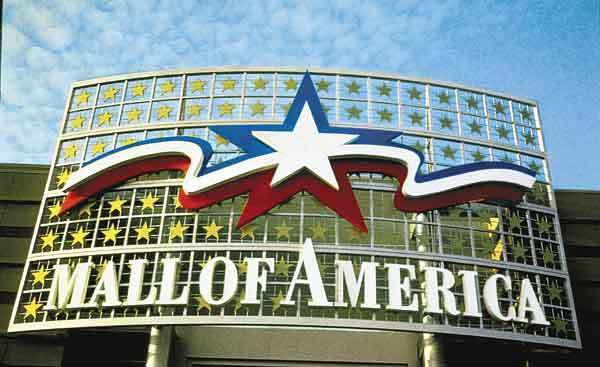 Mall Of America - Attractions/Entertainment, Shopping - 60 E Broadway, Bloomington, MN, 55425, US