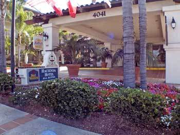 Hacienda Hotel Old Town - Hotels/Accommodations - 4041 Harney Street, San Diego, CA, USA