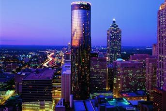 Westin Peachtree Plaza - Hotels/Accommodations, Attractions/Entertainment, Reception Sites - 210 Peachtree Street NW, Atlanta, GA, United States